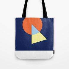 Triangle and circle Tote Bag