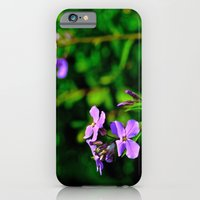 iPhone & iPod Case featuring Springing Purple by Biff Rendar
