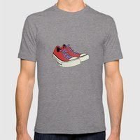 Comfort Mens Fitted Tee Tri-Grey SMALL