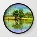 RIVER MIRROR Wall Clock