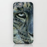 Snow-Leopard Glance 810 iPhone 6 Slim Case