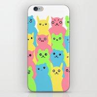 Animal Friends iPhone & iPod Skin