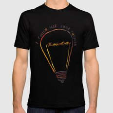 Lizzie Bennet #1 SMALL Black Mens Fitted Tee