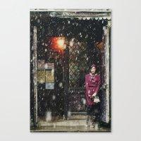 Snowscape I Canvas Print