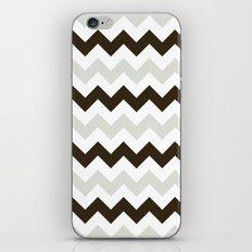 Chevron Makes Me Happy iPhone & iPod Skin