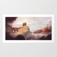 Eighteen-twelve - Niagar… Art Print