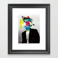 Clusters On Mind #3 Framed Art Print