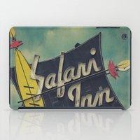 Safari Inn, Burbank, CA.… iPad Case