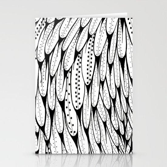 Bird Pattern Stationery Card