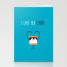I LOVE YOU S'MORE Stationery Cards