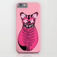 Tres Gatos Rosados - Cat Triptych for Pussy Riot iPhone 6 Slim Case