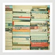 Art Print featuring Bookworm by Cassia Beck