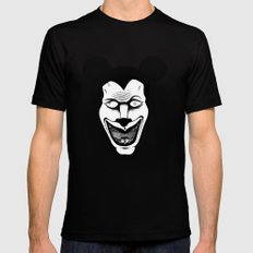 Maniac Mickey Black SMALL Mens Fitted Tee