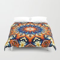 Colorful Tribal Pattern Duvet Cover