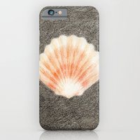 iPhone Cases featuring Seashell by Sara Jenkins