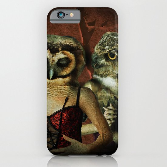 Night Owls iPhone & iPod Case