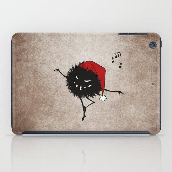 Dark Evil Christmas Bug iPad Case