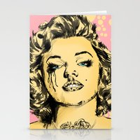 Mirror Monroe Stationery Cards