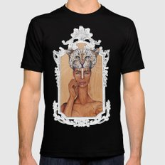 Ayaba of Africa Black SMALL Mens Fitted Tee