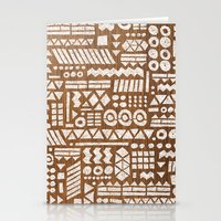 Northwoods Pattern. Stationery Cards