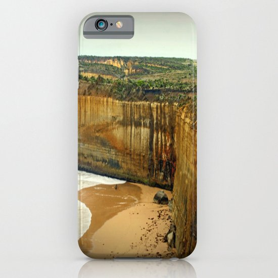 Gigantic limestone Cliffs iPhone & iPod Case