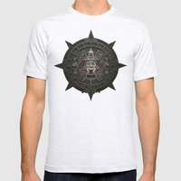 Stone Of The Sun I. Mens Fitted Tee Ash Grey SMALL