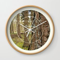 Forward is the way to go Wall Clock