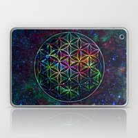Flower of Life in the Universe - Universe in the Flower of Life Laptop & iPad Skin