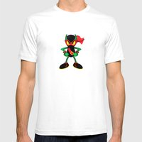 Zool - Digital Work Mens Fitted Tee White SMALL