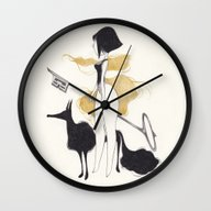 Wall Clock featuring -K- by Yohan Sacre