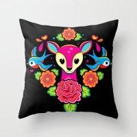 Bonita Oaxaca Throw Pillow