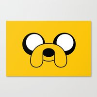 Jake The Dog Canvas Print