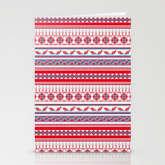 Eastern Lines Stationery Card
