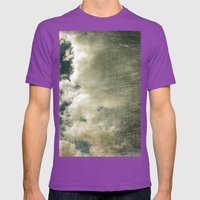 Partly Cloudy Mens Fitted Tee Ultraviolet SMALL