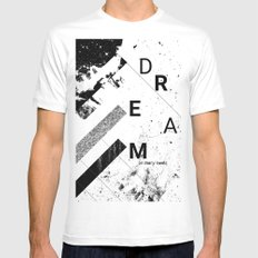 DREAM on many levels Mens Fitted Tee White SMALL