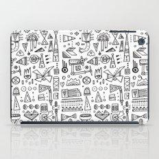 Triangle doodles iPad Case