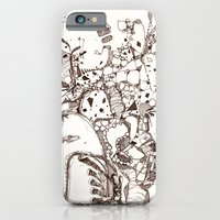 iPhone & iPod Case featuring Paper and Pen by DEMETRI ESPINOSA