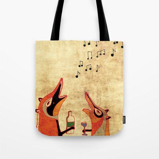 Fox fun Tote Bag