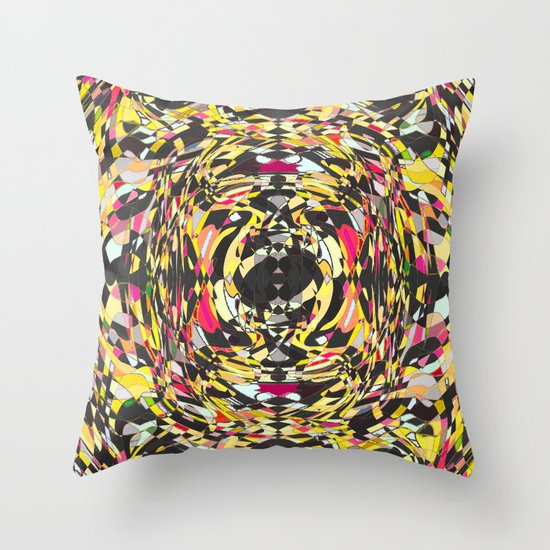 Broken Spectrum Throw Pillow