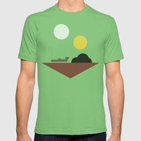 Tatooine Mens Fitted Tee Grass SMALL