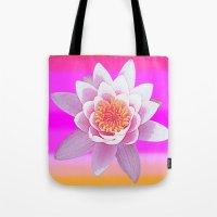 Ninfea Rose Tote Bag