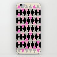 Triangles And Lines (pin… iPhone & iPod Skin