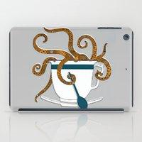 Octopus in a Teacup iPad Case