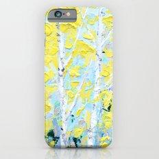 New England Paper Birch iPhone 6 Slim Case
