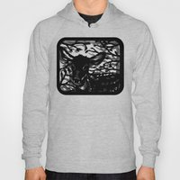 Sleeping Fawn Papercut Hoody