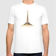 Take Off Mens Fitted Tee White SMALL