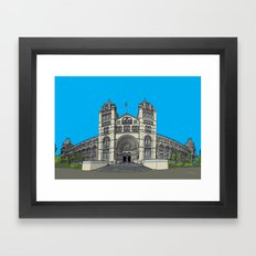 The Natural History Museum, London Framed Art Print