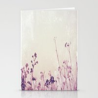 Landscape 1 (red Tones) Stationery Cards