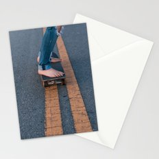 Barefoot Skateboard Stationery Cards