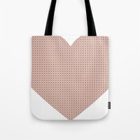 I love you this much... (light purple) Tote Bag